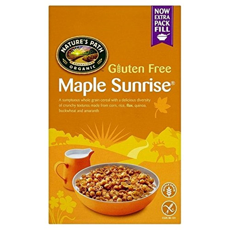 性質パス有機グルテンフリーのカエデの日の出332グラム (x 6) - Natures Path Organic Gluten Free Maple Sunrise 332g (Pack of 6) [並行輸入品]