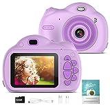Kinderkamera - Digitalkamera für Kinder, 1080P Kinder Videokameras mit 32GB SD Karte für Jungen und Mädchen, Kinder Kreativer DIY Camcorder für Geburtstags/Weihn