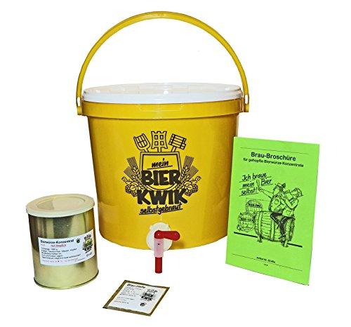 """Hobby-Bier-Brauset """"Einsteiger"""" zur Herstellung von HELLEN Bieren"""
