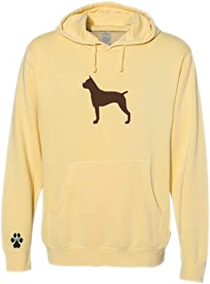 Heavyweight Pigment-Dyed Hooded Sweatshirt with/Boxer Ears Up Silhouette