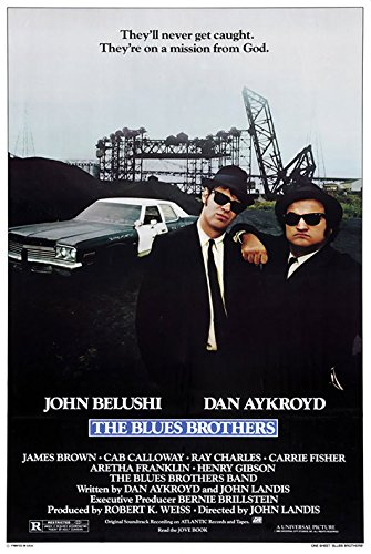 The Blues Brother (StyleA) - (24' X 36') Movie Poster