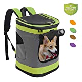 None Pet Carrier Backpack for Small Medium Dogs Cats, Airline Approved Bag...