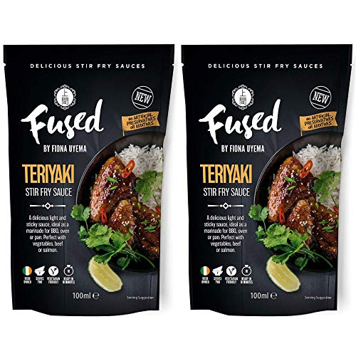 Fused Teriyaki Sauce - Ready to Use Japanese Marinade & Stir Fry Sauce for...