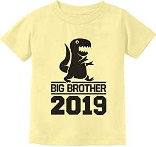 Tstars - Gift for Big Brother 2019 T-Rex Boy Toddler Kids T-Shirt