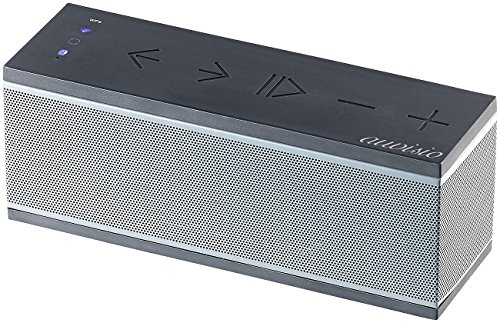 auvisio WiFi Lautsprecher: WLAN-Multiroom-Lautsprecher mit Bluetooth & Mikrofon, 20 Watt (WLAN Box)