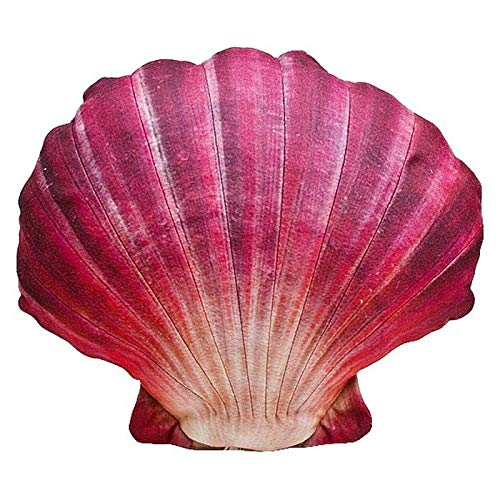 Gaby Cojín con Forma de capasanta roja