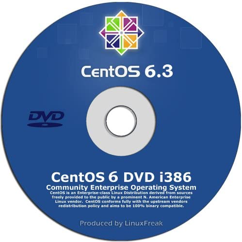 Special price for a limited 40% OFF Cheap Sale time CentOS 6.3 Enterprise Linux on 32-bit Edition DVD -