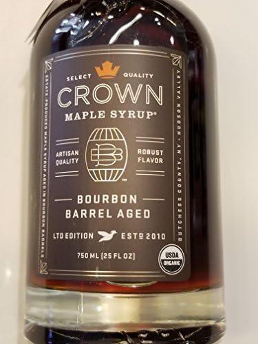 Bourbon Barrel Aged Maple Syrup by Crown Maple Farm Ltd Edition 12 7 fluid ounce product image
