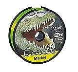 Jaxon Angelschnur Meeresschnur Crocodile Marine Fluo-gelb 300M Spule Monofile NEU&OVP (0,03?/m) -