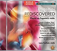 Paganini Rediscovered - Played on Paganini's Violin by Luca Ballerini