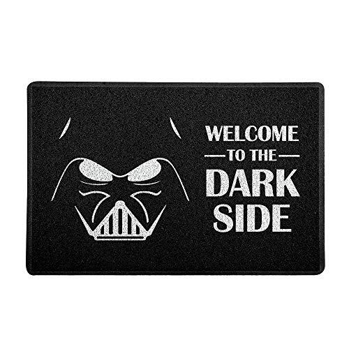 Capacho Welcome to the Dark Side Beek Geek'S Stuff Preto 60X40cm