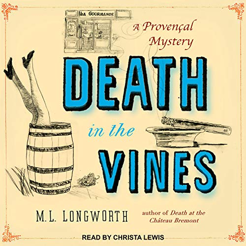 Death in the Vines audiobook cover art