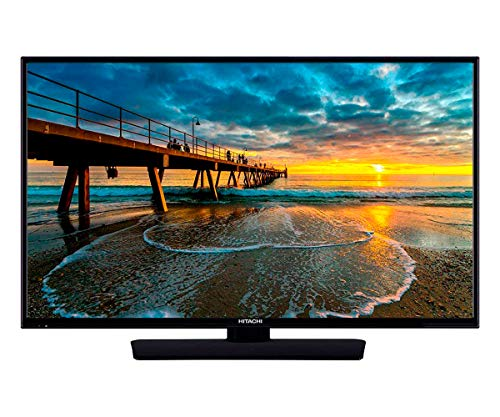 Television 24 inch HD Bluetooth WiFi and Smart TV - LED 720p, 61cm, HD-Ready, HDMI, USB - Perfect for Kitchen and Small Rooms - Stand or Wall Mounted