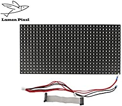 LUMEN Matrix RGB LED P10 Module semi Outdoor LED programmable Sign high Brightness Digital Video Display Board (P10RGB 1/4scan)