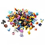 ANLKUJHF 72 figuras de acción Pokemon juguetes, mini Pikachu modelo de muñecas...