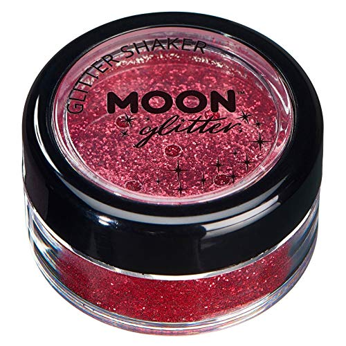 Fein Glitterstreuer von Moon Glitter - 100% kosmetische Glitzer für Gesicht, Körper, Nägel, Haare...