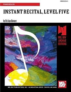 Instant Recital Level 5