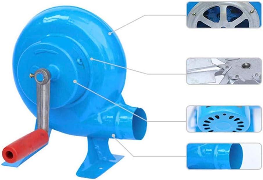 YUANP Barbecue en Plein Air Fer à Repasser Ventilateur à Main Ventilateur à Barbecue à Main Souffleur à Feu Souffleur à Pop-Corn Bleu,350W 350w
