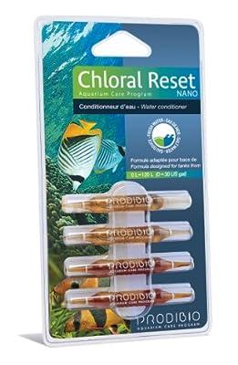 Prodibio Chloral Reset Nano Set de 4 Ampoules pour Aquariophilie