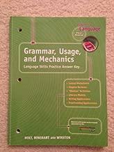 Elements of Language : Grammar, Usage and Mechanics: Language Skills Answer Key - Grade 7