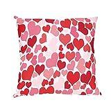 NEEDRA Lch Liebe Dich Valentinstag Romantisch Geschenk 45x45 cm Deko-Kissen Geburtstag/Bedrucktes...