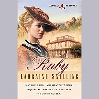 Ruby     The Dakotah Treasures, Book 1              By:                                                                                                                                 Lauraine Snelling                               Narrated by:                                                                                                                                 Alexandra O'Karma                      Length: 13 hrs and 5 mins     167 ratings     Overall 4.2