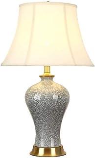 WYBFZTT-188 Moderne Décoration Tissu Abat Corps De La Lampe en Céramique, Convient for Le Salon, Chambre, Salle