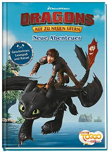 Dragons - Auf zu neuen Ufern: Neue Abenteuer - Lesespaß und Rätsel