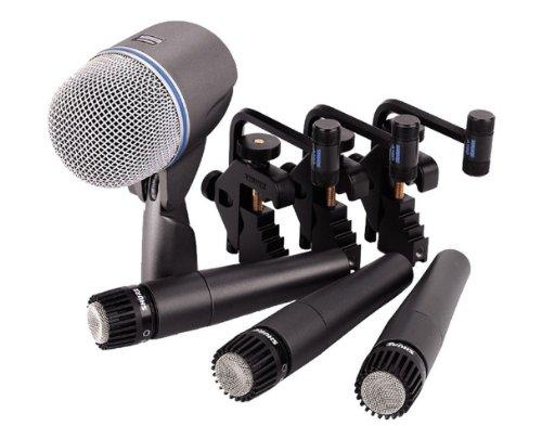 Shure - Dmk57-52 kit micrófonos bateria set dmk57-52