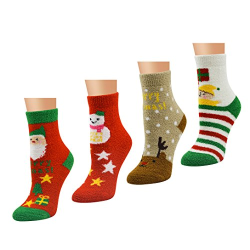 Calcetines de Navidad para mujer y niña