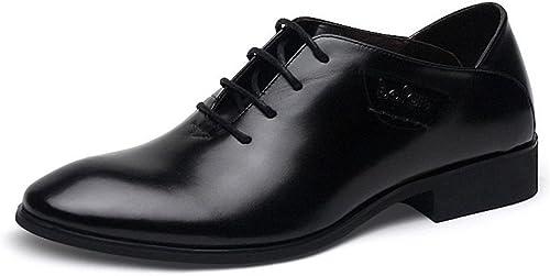 Une affaire d'hommes souliers hommes chaussures souliers mode épais accent,noir,trente - six