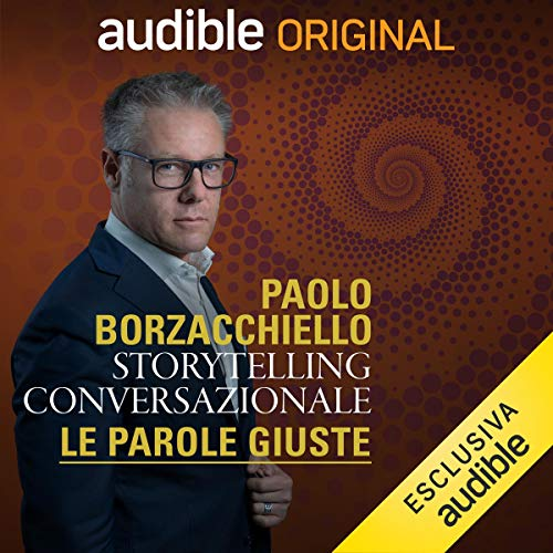 Storytelling conversazionale audiobook cover art