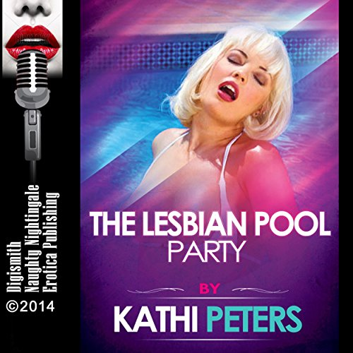 The Lesbian Pool Party audiobook cover art