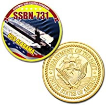 U.S Navy USS ALABAMA SSBN-731 GP printed Challenge coin
