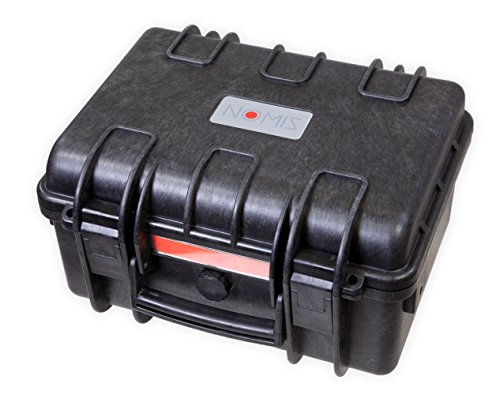 NOMIS Hartschalenkoffer Outdoor Cases 36,5 x 30 x 20,7cm Staub- und wasserdicht schwarz