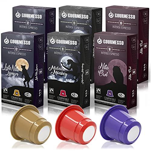 Gourmesso Coffret Nite Edition - 60 capsules de café...