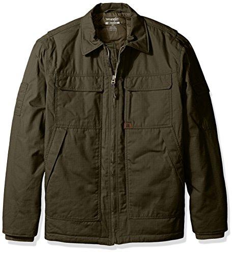 Wrangler Riggs Workwear Men's Big & Tall Ranger Jacket, Loden, 3X/Tall