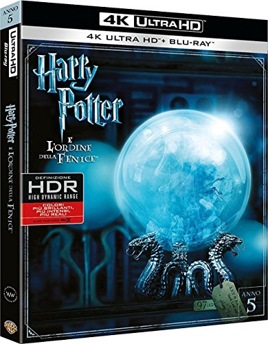 Harry Potter E L'Ordine Della Fenice (Blu-Ray 4K Ultra HD+Blu-Ray) [Blu-ray]