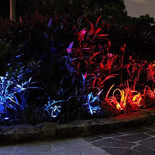 NBVCX Piezas de maquinaria Luces de jardín IP65 Iluminación de Paisaje a Prueba de Agua Focos de Exterior Decorativos de bajo Voltaje Seguros para Caminos de césped Iluminación Decorativa Especial A