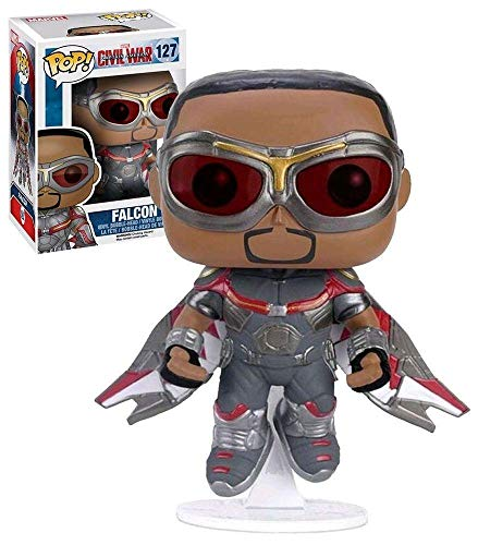 POP! Bobble - Marvel: Captain America CW: Falcon