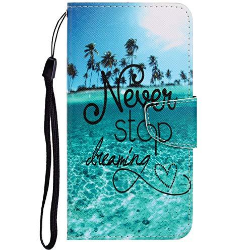 Dclbo Hülle für Nokia 2.2 2019, Handyhülle PU Leder Schutzhülle Flip Wallet Case Lederhülle Brieftasche Tasche mit Kartenfächer Magnet Cover Klapphülle für Nokia 2.2 2019-10 Muster
