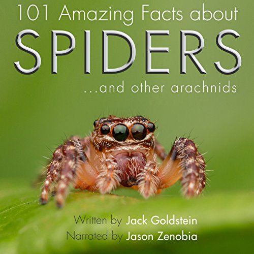 101 Amazing Facts About Spiders audiobook cover art