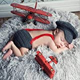 PZNSPY 1 Satz Baby Kostüm Hosenträgerhut Hosen Bowknot Krawatte Cosplay Nette Lustige Kleidung Requisiten Neugeborenen Outfit Fotografie Kinder Liefert