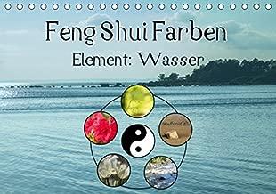 Feng Shui Farben - Element Wasser (Tischkalender 2019 DIN A5 quer): Die Farbe Blau steht im Feng Shui für das Element Wasser (Monatskalender, 14 Seiten )