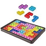 BTSRPU 27 peças de quebra-cabeça push pop com bolhas Fidget Puzzle push push silicone alívio de pressão de estresse, conjunto de blocos de ajuste para crianças, adolescentes, adultos, funcionários de escritório