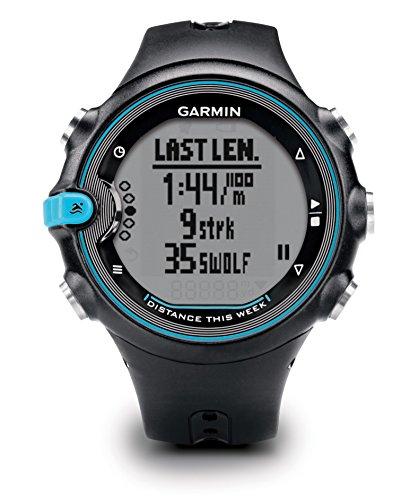 Garmin Swim - Reloj deportivo unisex, con correa de plástico, color negro / azul
