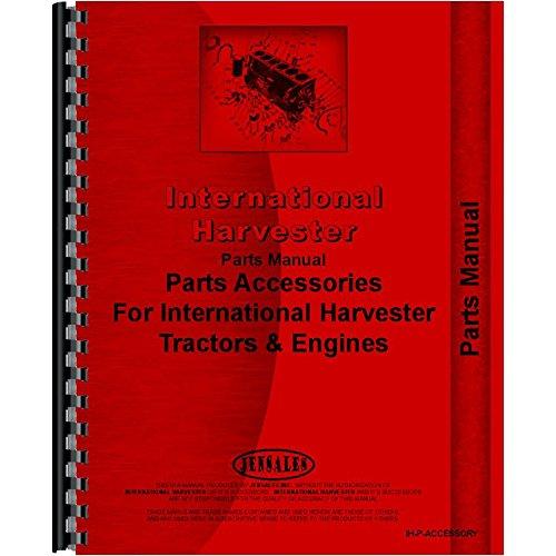 One New Parts Manual Fits Case IH, Farmall, Fits International Harester, International Harvester, McCormick Deering 100, 130, 140, 200, 230, 240, 300, 350, 400, 450, 460, 560, 560 Gas, 600, 650, 660,