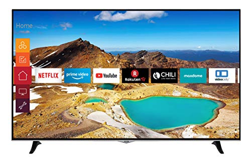 Telefunken XU65H529 165 cm (65 Zoll) Fernseher (4K Ultra HD, HDR10, Dolby Vision HDR, Triple Tuner, Smart TV, Prime Video, Works with Alexa, Bluetooth)