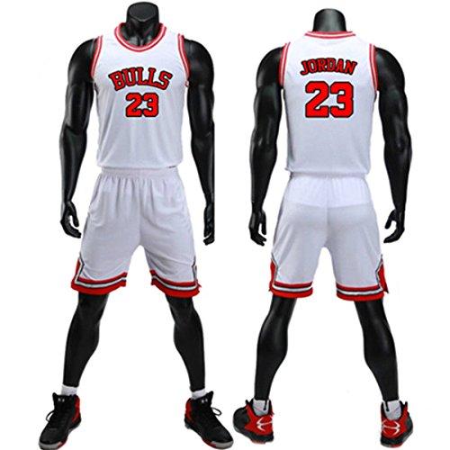 Chico Hombre NBA Michael Jordan # 23 Chicago Bulls Retro Pan