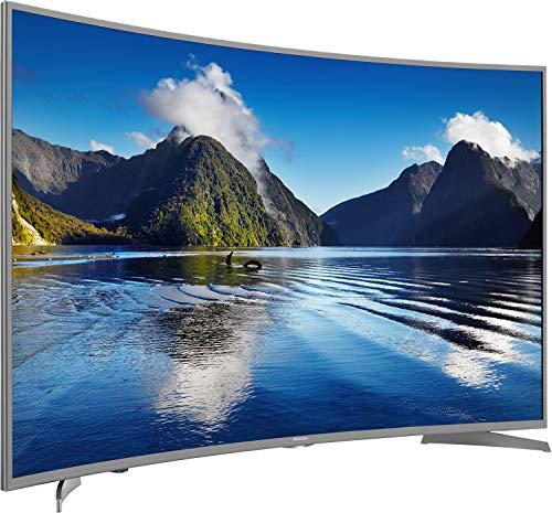 Hisense H55NEC6500 138 cm (55 Zoll) Curved Fernseher (Ultra HD, HDR10, Triple Tuner, Smart TV)